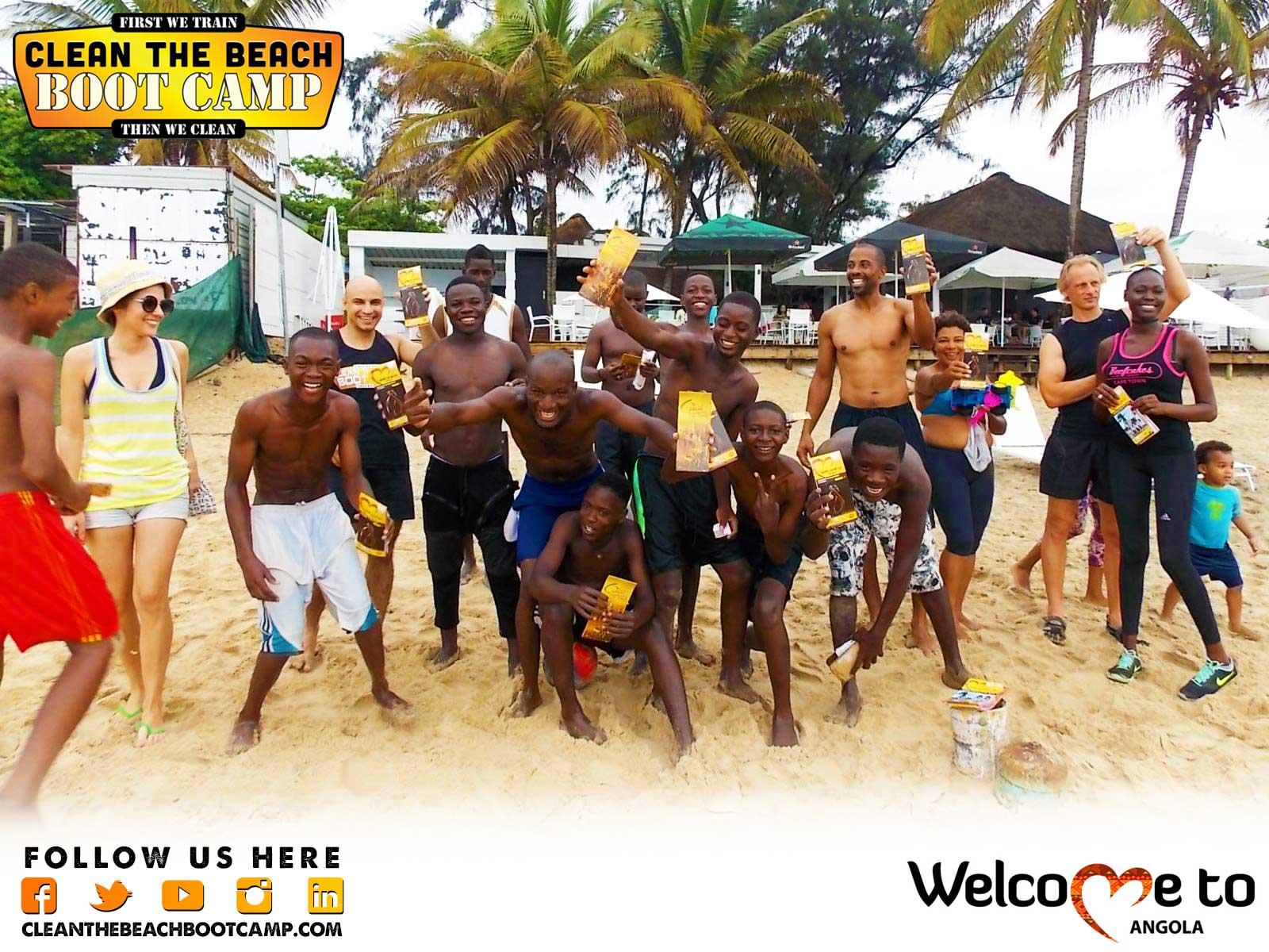 Angola Boot Camp & Angola Beach Clean Up