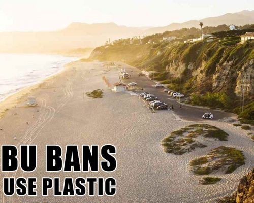 Malibu Forbids Bans Single Use Plastic