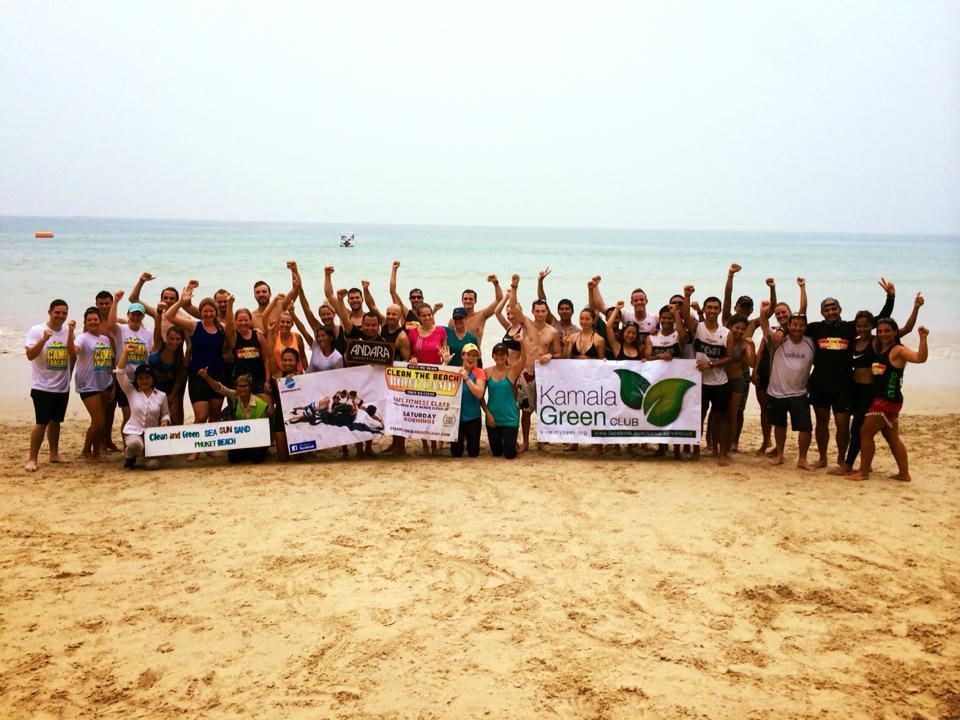 Phuket Boot Camp & Phuket Beach Clean Up