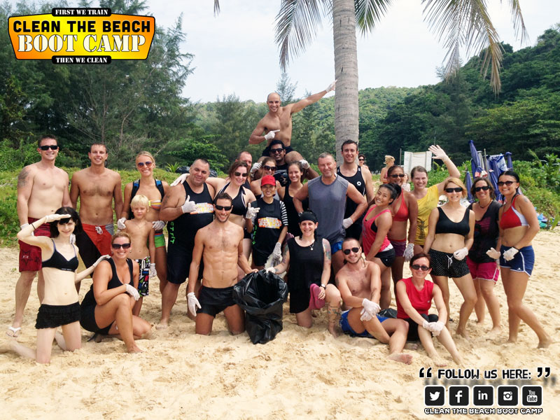 Phuket Boot Camp & Phuket Beach Clean Up