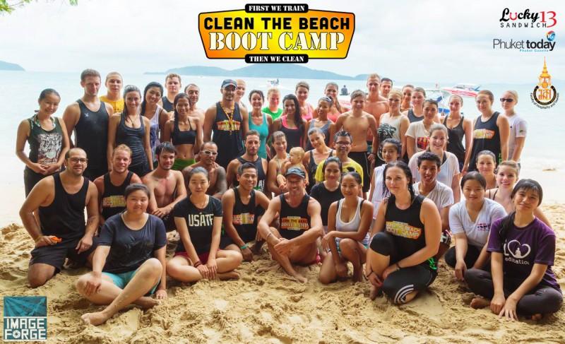 Laem-Ka-44-bags Clean the Beach Boot Camp