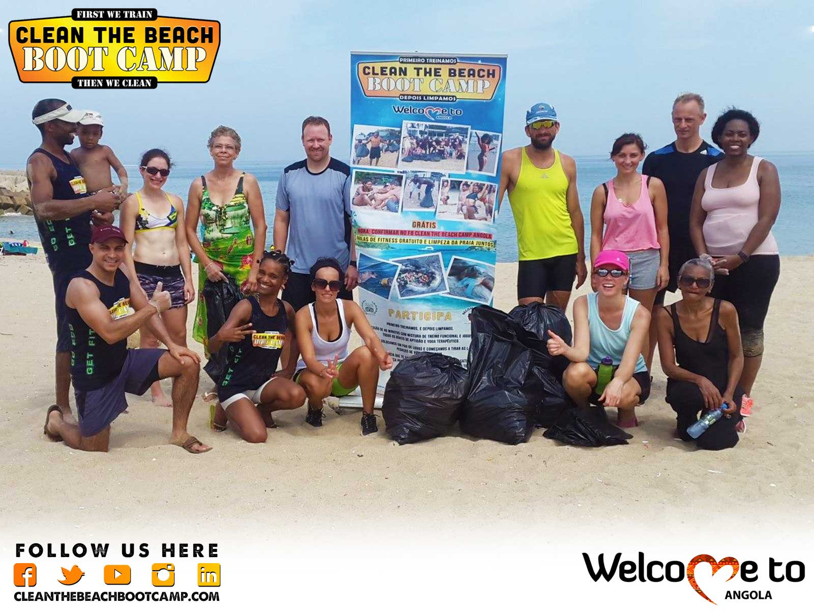 Angola Boot Camp & Angola Beach Clean Up