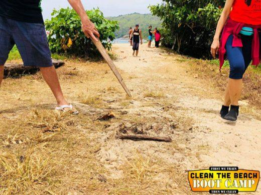 Explosive Find In Beach Clean Up