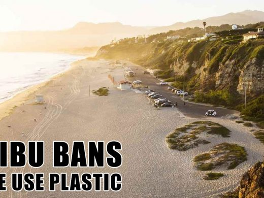 Malibu Forbids Bans Single Use Plastic